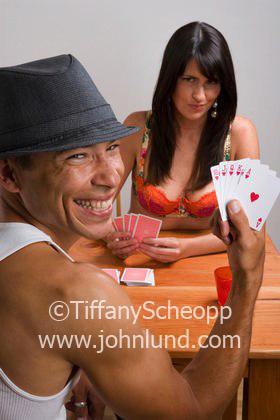 strip Couples poker playing